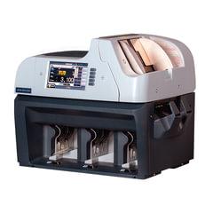 Счетчик-сортировщик банкнот MAGNER 350, 1100 банкнот/<wbr/>мин., ИК-, УФ- магнитная- детекция, 3 лотка
