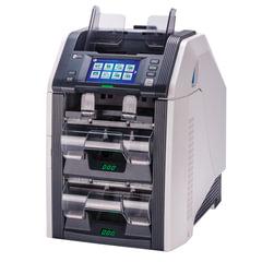 Счетчик-сортировщик банкнот GRGBanking СM200V, 1100 банкнот/<wbr/>мин., ИК-, УФ- магнитная детекция, 3 лотка