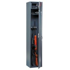 Сейф оружейный AIKO «Чирок 1528», 1500×300×285 мм, 24 кг, на 3 ствола, 2 ключевых замка