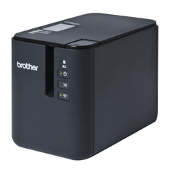Принтер этикеток BROTHER PT-P900W, ширина ленты 3,5-36 мм, до 80 мм/<wbr/>сек., разрешение 360 т/<wbr/>дс, Wi-Fi