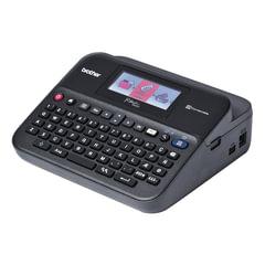 Принтер этикеток BROTHER PT-D600VP, ширина ленты 3,5-24 мм, до 20 мм/<wbr/>сек., разрешение 204 т/<wbr/>д