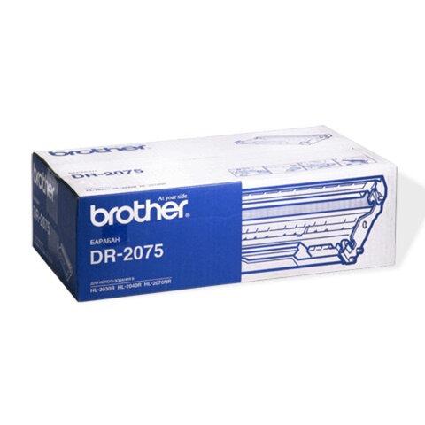 Фотобарабан BROTHER (DR2075) HL-2030R/MFC-7420/ FAX-2825 и другие, оригинальный, ресурс 12000 стр.
