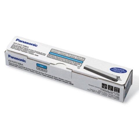Тонер-картридж PANASONIC (KX-FATC506A) KX-MC6020RU, оригинальный, голубой, 4000 копий