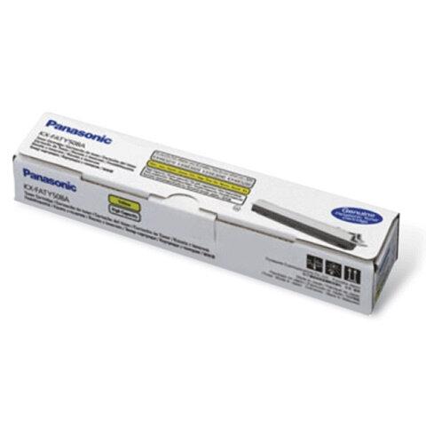 Тонер-картридж PANASONIC (KX-FATY508A7) KX-MC6020RU, оригинальный, желтый, 4000 копий