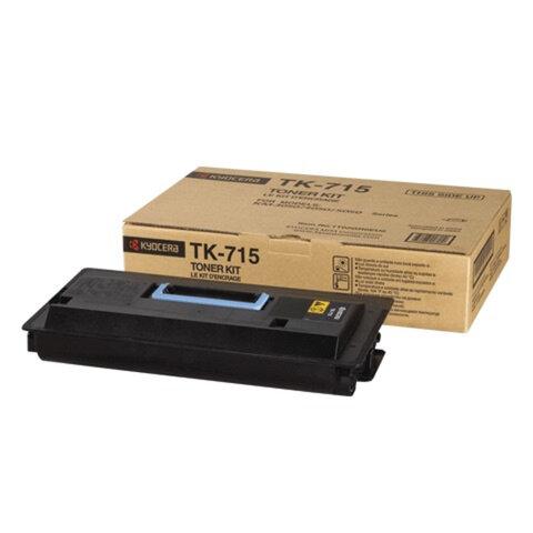 Тонер-картридж KYOCERA (TK-715) KM3050/<wbr/>4050/<wbr/>5050, оригинальный, ресурс 34000 стр.