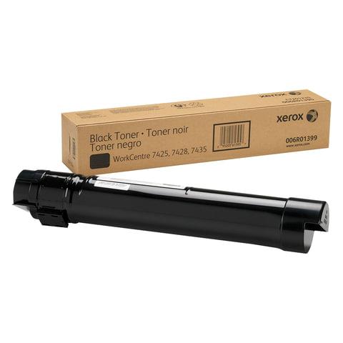 Тонер-картридж XEROX (006R01399) WC 7425/7428/7435, черный, оригинальный, ресурс 26000 стр.