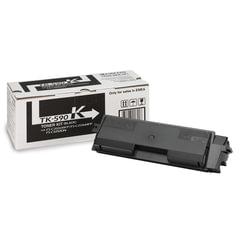 Тонер-картридж KYOCERA (TK-590K) FS-C2026MFP/<wbr/>C2126MFP/<wbr/>C2626MFP и другие, черный, оригинальный, ресурс 7000 страниц