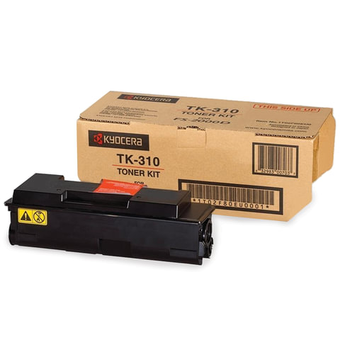 Тонер-картридж KYOCERA (TK-310) FS-2000/2000D/2000DN/3900/3900DN/4000/4000DN, оригинальный, ресурс 12000 стр.
