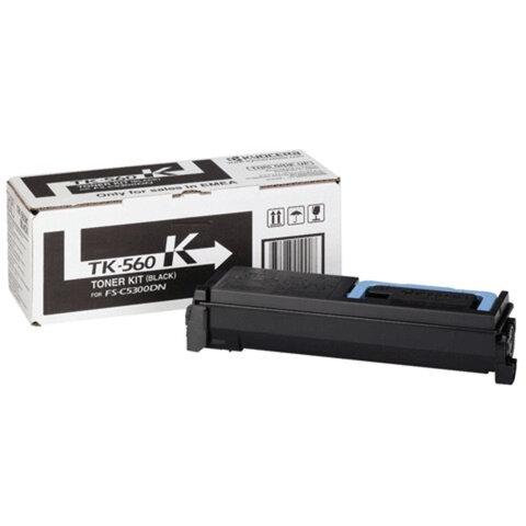 Тонер-картридж KYOCERA (TK-560K) FS-C5300DN/<wbr/>5350DN, черный, оригинальный, ресурс 12000 страниц
