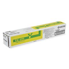 Тонер-картридж KYOCERA (TK-895Y) FS-C8020MFP/<wbr/>C8025MFP/<wbr/>C8520MFP/<wbr/>C8525MFP, желтый, оригинальный, ресурс 6000 страниц