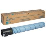 Тонер KONICA MINOLTA (TN-512C) bizhub C454/<wbr/>C554, голубой, оригинальный, ресурс 26000 стр.