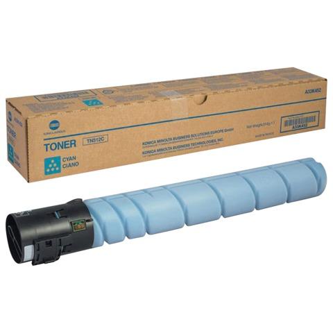 Тонер KONICA MINOLTA (TN-512C) bizhub C454/C554, голубой, оригинальный, ресурс 26000 стр.
