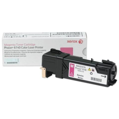 Тонер-картридж XEROX (106R01482) Color Phaser 6140, пурпурный, оригинальный, ресурс 2000 стр.