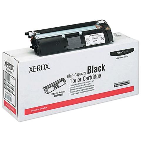 Тонер-картридж XEROX (113R00692) Phaser 6120/6115MFP, черный, оригинальный, ресурс 4500 стр.