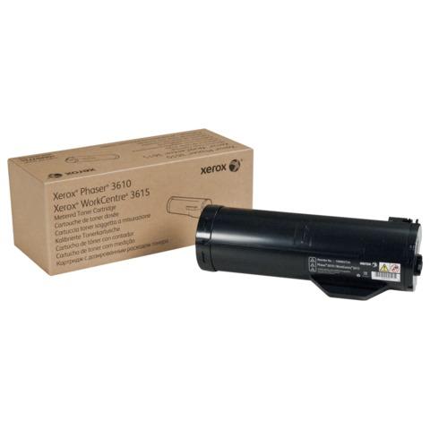 Тонер-картридж XEROX (106R02721) Phaser 3610/WC 3615, оригинальный, ресурс 5900 стр.