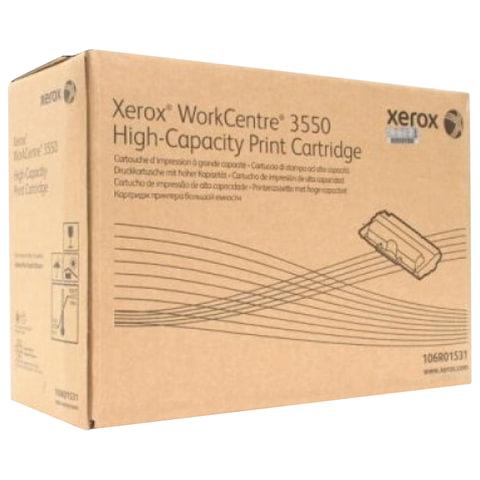 Тонер-картридж XEROX (106R01531) WorkCentre 3550, оригинальный, ресурс 11000 стр.