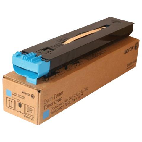 Тонер-картридж XEROX (006R01450) WC 7655/<wbr/>7755/<wbr/>DC 240/<wbr/>250/<wbr/>242 и др, голубой, оригинальный, ресурс 2шт*34000 стр.