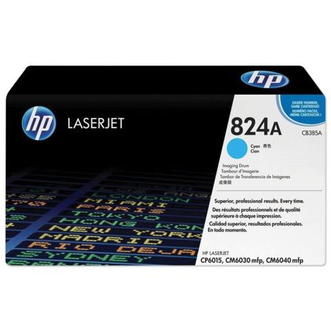 Фотобарабан HP (CB385A) ColorLaserJet CP6015/<wbr/>CM6030/<wbr/>CM6040, голубой, оригинальный, ресурс 23000 стр.