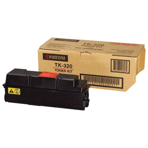 Тонер-картридж KYOCERA (TK-320) FS-3900DN, FS-4000DN, оригинальный, ресурс 15000 стр.