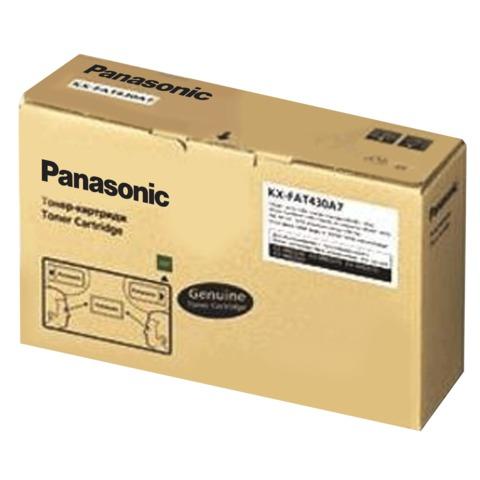 Тонер-картридж PANASONIC (KX-FAT430A7) MB2230/2270/2510, оригинальный, ресурс 3000 страниц