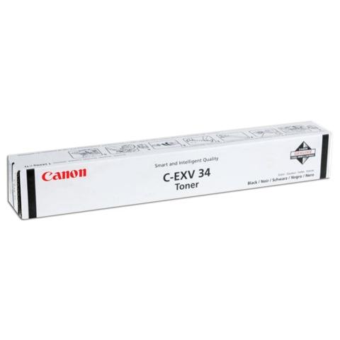 Тонер CANON (C-EXV34BK) iR C9060/<wbr/>C9065/<wbr/>C9070, черный, оригинальный, ресурс 23000 стр.