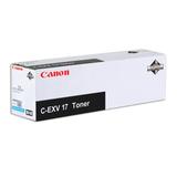Тонер CANON (C-EXV17C) iR4080/<wbr/>4580/<wbr/>5185, голубой, оригинальный, ресурс 30000 стр.