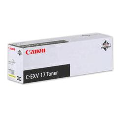 Тонер CANON (C-EXV17Y) iR4080/<wbr/>4580/<wbr/>5185, желтый, оригинальный, ресурс 30000 стр.