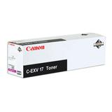 Тонер CANON (C-EXV17M) iR4080/<wbr/>4580/<wbr/>5185, пурпурный, оригинальный, ресурс 30000 стр.