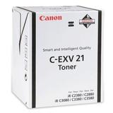 Тонер CANON (C-EXV21) iR C2380/<wbr/>2880/<wbr/>3080/<wbr/>3380/<wbr/>3580, черный, оригинальный, ресурс 26000 стр.