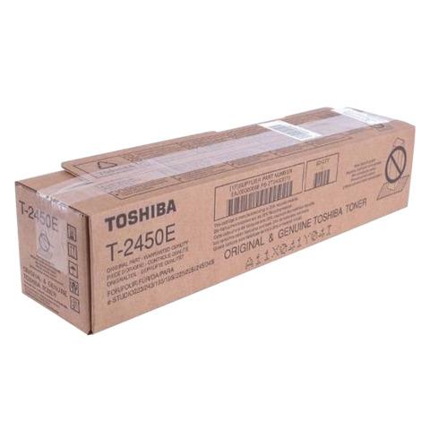 Тонер-картридж TOSHIBA (T-2450E) e-STUDIO223/<wbr/>243/<wbr/>195/<wbr/>225/<wbr/>245, черный, оригинальный, ресурс 25000 стр.