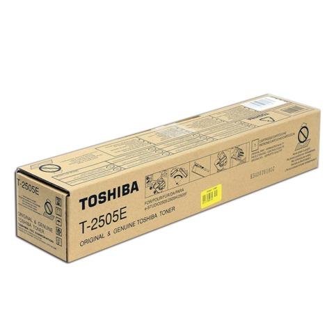 Тонер-картридж TOSHIBA (T-2505E) e-STUDIO2505/2505H/2505F, черный, оригинальный, ресурс 12000 стр.