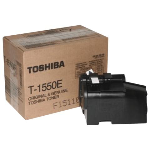Тонер-картридж TOSHIBA (T1550E) 1550/<wbr/>1560, черный, оригинальный, ресурс 7000 стр.