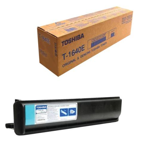 Тонер-картридж TOSHIBA (T1640E) e-STUDIO163/<wbr/>165/<wbr/>166/<wbr/>203/<wbr/>205, черный, оригинальный, ресурс 24000 стр.