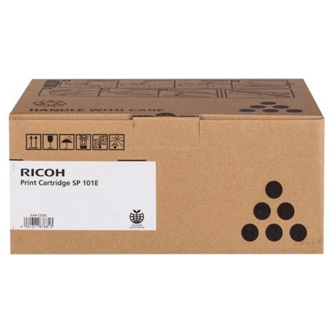 Тонер-картридж RICOH (SP101E) Aficio SP100/100SU/100SF, черный, оригинальный, ресурс 2000 стр.