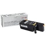 Тонер-картридж XEROX (106R02762) WC 6025/<wbr/>6027/<wbr/>Phaser 6020/<wbr/>6022, желтый, оригинальный, ресурс 1000 стр.