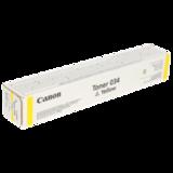 Тонер CANON C-EXV034Y iR C1225/<wbr/>1225iF, желтый, оригинальный, ресурс 7300 стр.