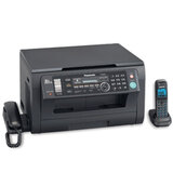 МФУ лазерное PANASONIC KX-MB2051RUB (принтер, копир, сканер, факс, радиотел.), А4, 24 стр./<wbr/>мин., 10000 стр./<wbr/>мес., LCD, с/<wbr/>карта