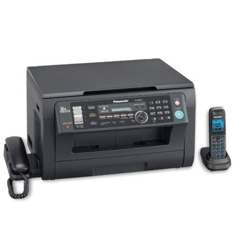 МФУ лазерное PANASONIC KX-MB2051RU-B (принтер, копир, сканер, факс, радиотел.), А4, 24 стр./<wbr/>мин., 10000 стр./<wbr/>мес., LCD, с/<wbr/>карта