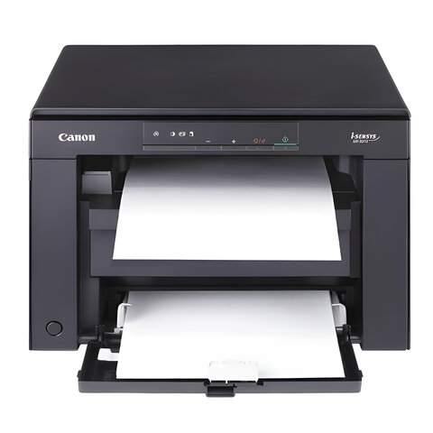 МФУ лазерное CANON i-Sensys MF3010 (принтер, копир, сканер), А4, 18 стр./<wbr/>мин., 8000 стр./<wbr/>мес., без кабеля USB