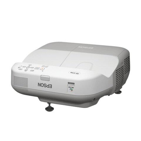 Проектор EPSON EB-470, LCD, 1024x768, 4:3, 2600 лм, 3000:1, ультракороткофокусный, 5,2 кг