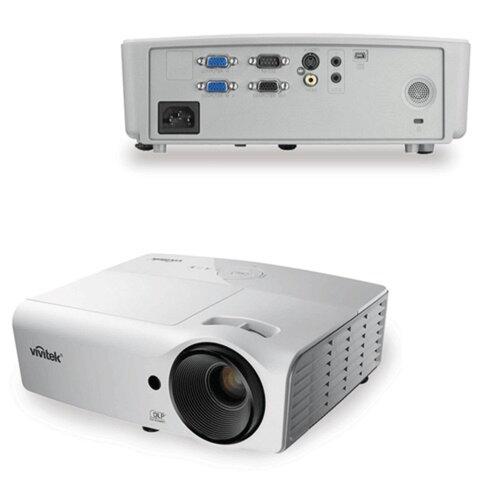 Проектор мультимедийный VIVITEK D551, DLP, 1024×768, 3000 Лм, 15000:1, 3D, VGA
