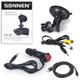 Видеорегистратор автомобильный SONNEN DVR-700 FullHD, 120°, экран 2'', радар-детектор, microSD, HDMI