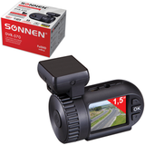 ���������������� ������������� SONNEN DVR-570, Full HD,130�, ����� 1,5'', GPS, G-������, microSDHC, HDMI