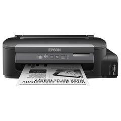 Принтер струйный монохромный EPSON M105, A4, 1440×720, 34 стр./<wbr/>мин., СНПЧ, Wi-Fi, без кабеля USB