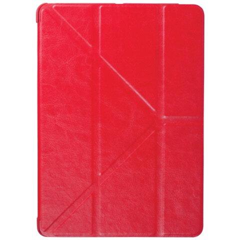 Чехол-обложка для планшетного ПК iPad Air SONNEN, кожзаменитель, подставка, красный