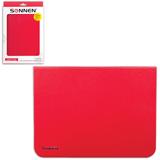 """Чехол-обложка для планшетного ПК Samsung Galaxy Tab 3 10.1"""" SONNEN, кожзаменитель, красный"""