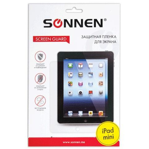 Защитная пленка для iPad mini SONNEN, прозрачная