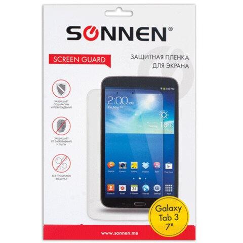 "Защитная пленка для Samsung Galaxy Tab 3 7"" SONNEN, матовая"