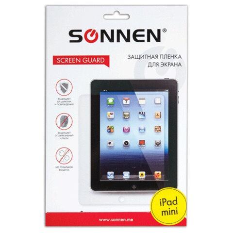 Защитная пленка для iPad mini SONNEN, против отпечатков пальцев, прозрачная