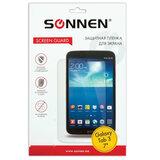 "Защитная пленка для Samsung Galaxy Tab 3 7"" SONNEN, против отпечатков пальцев, прозрачная"